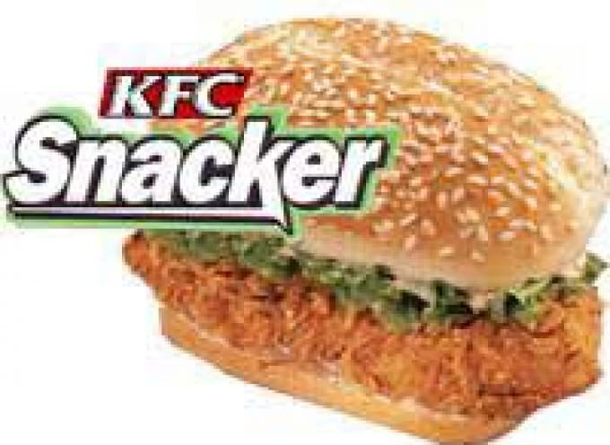 KFC Fish Snacker: arriva il panino quaresimale
