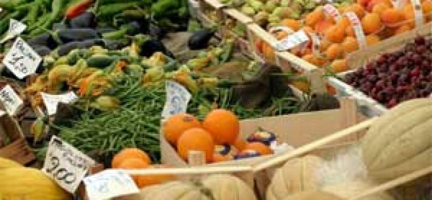 Prezzi: tracollo per gli ortaggi e la frutta