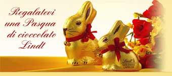 I coniglietti Lindt negli ospedali di Torino