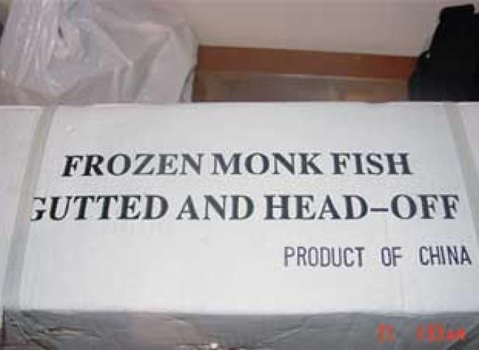 FDA Warning on Mislabeled Monkfish