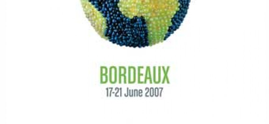 French government minister Christine Lagarde officially open Vinexpo 2007