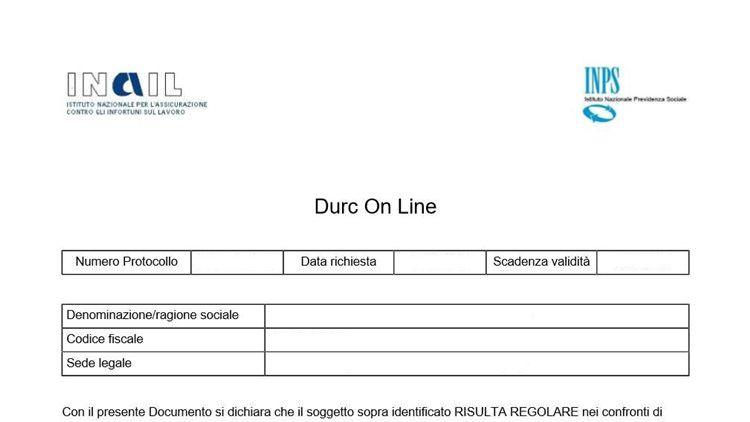 Il Durc On Line