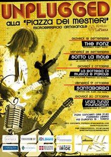 """""""Unplugged alla Piazza dei mestieri"""" (TO)"""