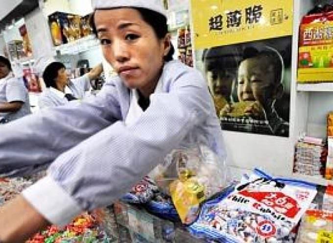 Bonbons chinois aussi contaminés
