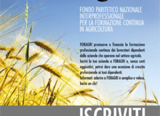 Agricoltura: Iscrizioni a Foragri entro il 31 ottobre 2008