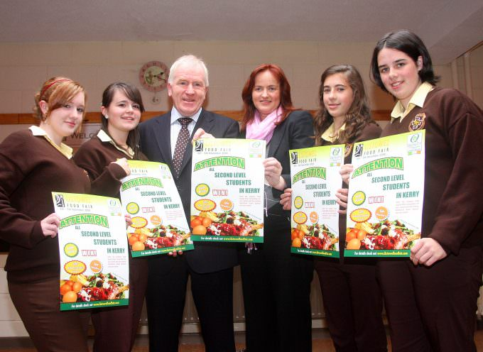 «Listowel Food Fair launch Bord Bia Quality Mark Schools competition»