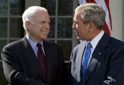 El lastre de Bush