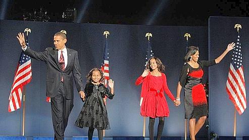 Barack Obama élu président des Etats-Unis