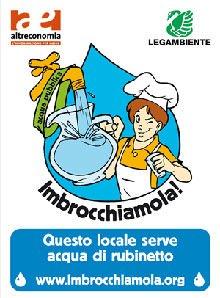 Al via Imbrocchiamola!, la campagna di Legambiente per diminuire il consumo di acqua in bottiglia