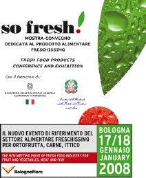 Bologna: So Fresh dal 15 al 16 gennaio 2009