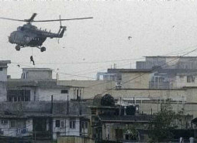 Commandos abseil onto Bombay Jewish Centre