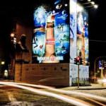 Budweiser inizia un'innovativa campagna di maxiaffissioni luminose