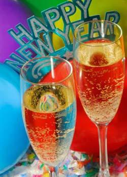 Valeria e Carlo ringraziano Una Hotel di Bergamo e Newsfood per il romantico Capodanno