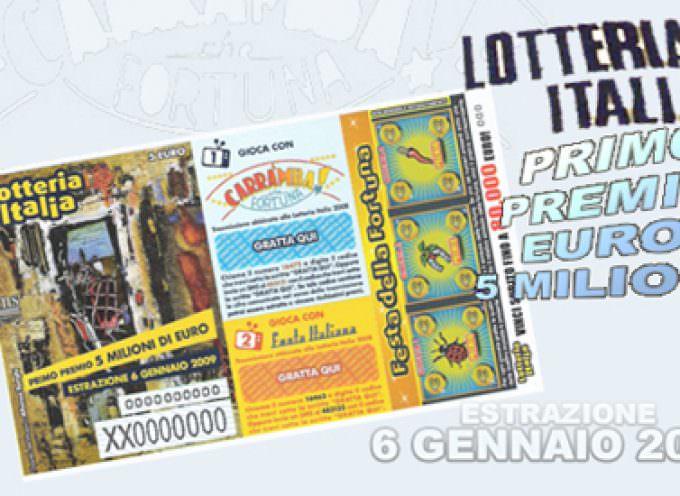Lotteria Italia: i 5 milioni vinti a Roma