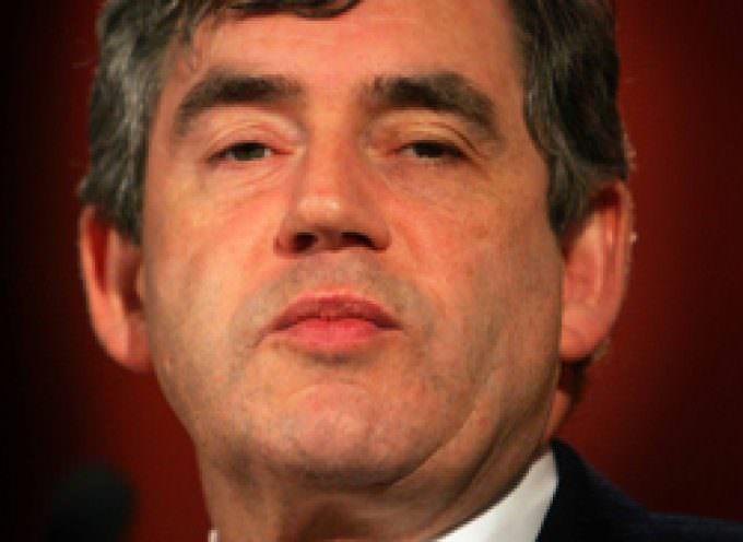 Made in Italy, Gordon Brown preferisce i ''fagottini alla mozzarella e verdure''