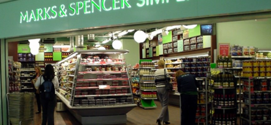 Il distributore Uk Marks & Spencer deciso nel 2008 di inserire alcune marche industriali in assortimento