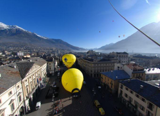 Aosta: Sulle Alpi in mongolfiera – Speciale San Valentino innamorati a cuor leggero