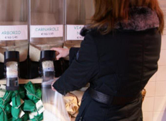 Commercio, Coldiretti: al via il primo distributore di riso self service in cascina