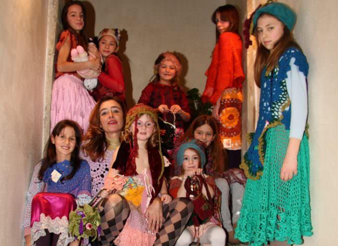 Firenze: «Vestiti come quadri», il concept di Elena Palchetti per il suo Dimani Domani