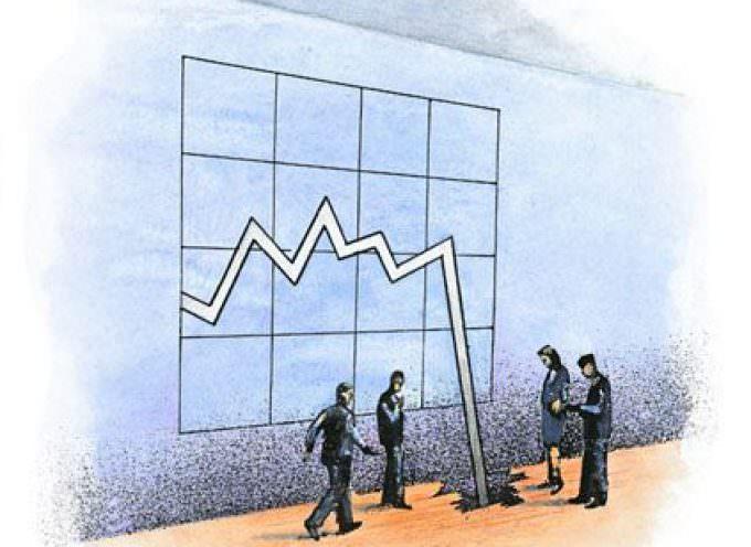 Crisi economica, Ires Cgil: il Pil potrebbe attestarsi al – 4% nel triennio 2008 – 2010