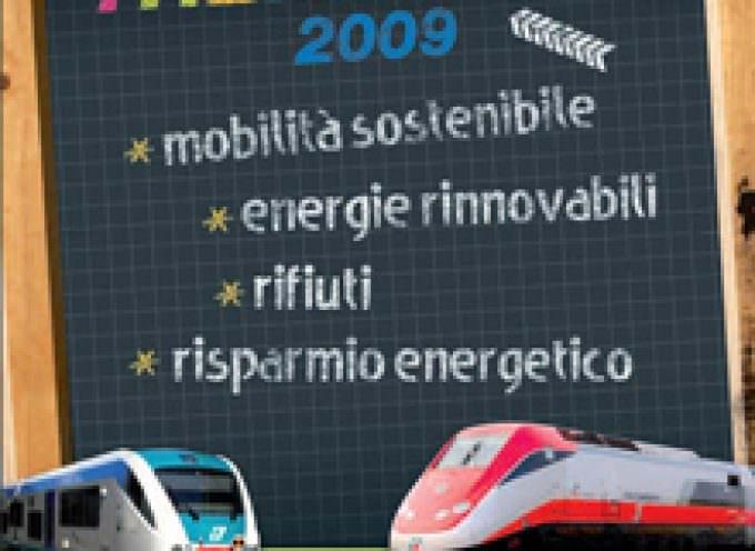 Si chiude a Firenze l'edizione 2009 del Treno Verde di Legambiente e Ferrovie dello Stato