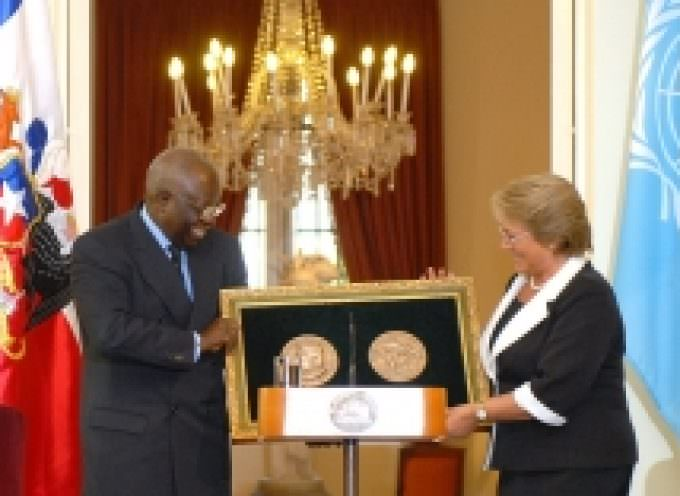 Chilean President awarded Ceres Medal