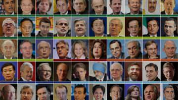 Crisi economica: i 50 nomi che salveranno il mondo