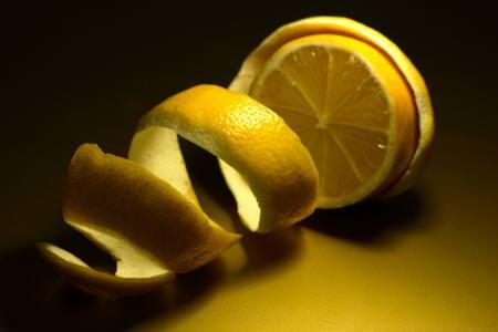 Pasta con ricotta, prezzemolo e limone
