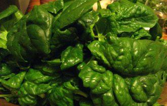 Spinaci e Noci. Verdura a foglia contro il fegato grasso