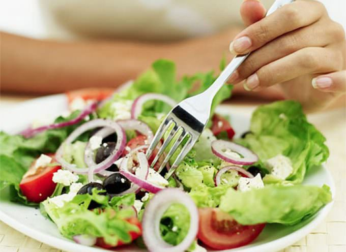 Dieta vegetariana, e si vive più a lungo