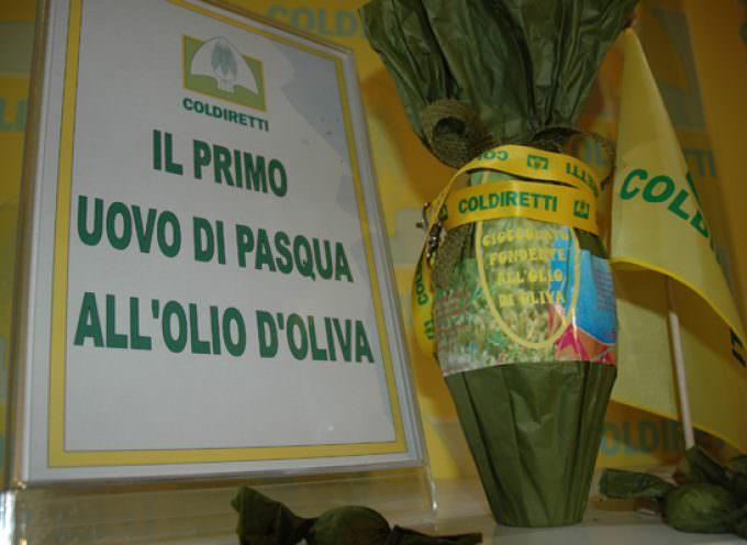 Pasqua, Coldiretti presenta il primo uovo all'olio di oliva