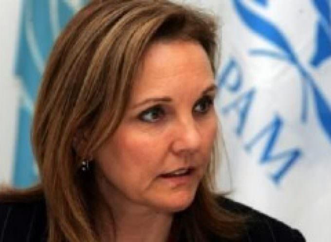 Josette Sheeran, Direttore Esecutivo del Programma Alimentare Mondiale delle Nazioni Unite (WFP), in udienza privata dal Papa