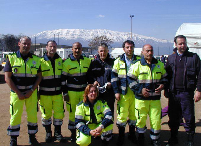 Rientrata dall'Abruzzo la protezione civile sangiorgese