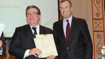 Menzione speciale a Palm SpA per l'implementazione di tecniche di eco design nella produzione italiana dei pallet