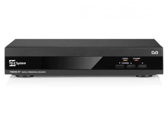 TELE System lancia il nuovo rivoluzionario ricevitore digitale terrestre Zapper TS6206