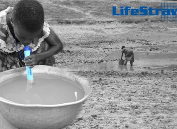 La cannuccia salvavita: acqua sempre pulita con Water LifeStraw