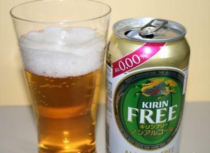 GRANDE NOVITA': Il colosso giapponese lancia KIRIN FREE la birra a tasso alcolico zero