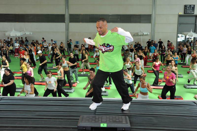 A Rimini Wellness si volteggia come al circo