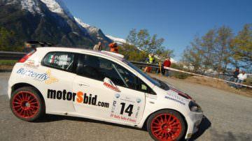 Michele Tagliani al Rally della Marca con Fiat Abarth Grande Punto Super 2000