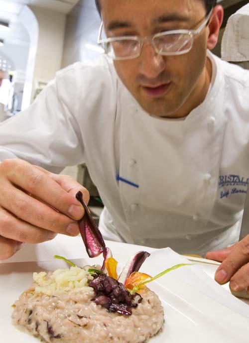 """Arte culinaria a 5 stelle al Cristallo Palace Hotel & Spa con il """"Risotto Cristallo"""""""