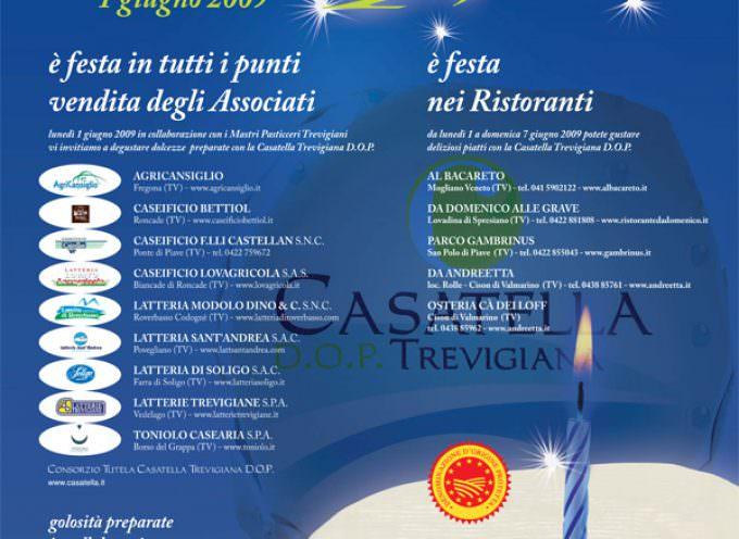Buon primo compleanno Casatella Trevigiana DOP