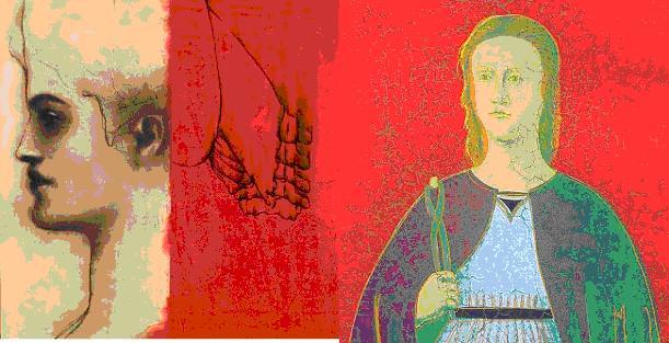 """""""Santa Apollonia"""", Omar Galliani e qualche dente di Andy Warhol"""