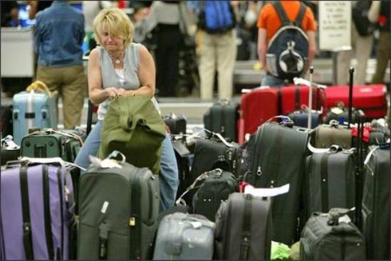 Viaggiare in aereo e perdere i bagagli