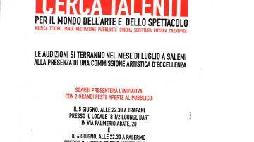 Vittorio Sgarbi cerca talenti per il mondo dell'arte e dello spettacolo.