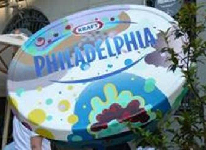 Artisti all'opera per il nuovo pack di philadelphia