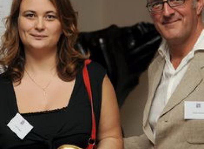 Cecilia Tessieri ha ritirato a Londra il Golden Bean 2009