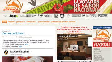 Vota per le 7 Meraviglie Gastronomiche del Perù