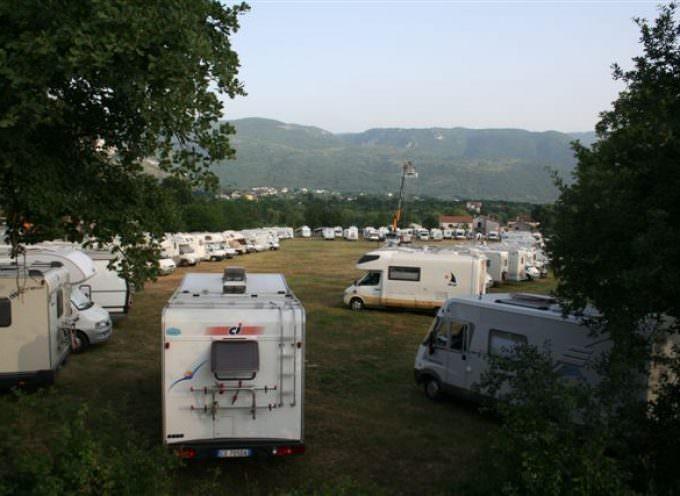Si registra il tutto esaurito alla XXIVa Edizione del Raduno Nazionale Camperisti dell'Isernia Camper Club