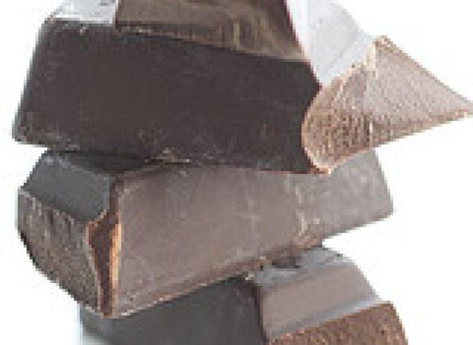 Il cioccolato fondente migliora il metabolismo e combatte lo stress