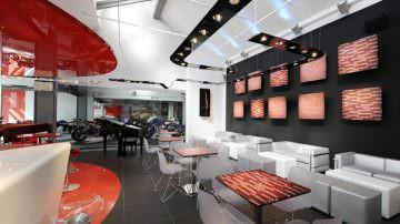 """Nasce Red Point Café Milano, il """"punto"""" che unisce le due ruote al resto del mondo"""